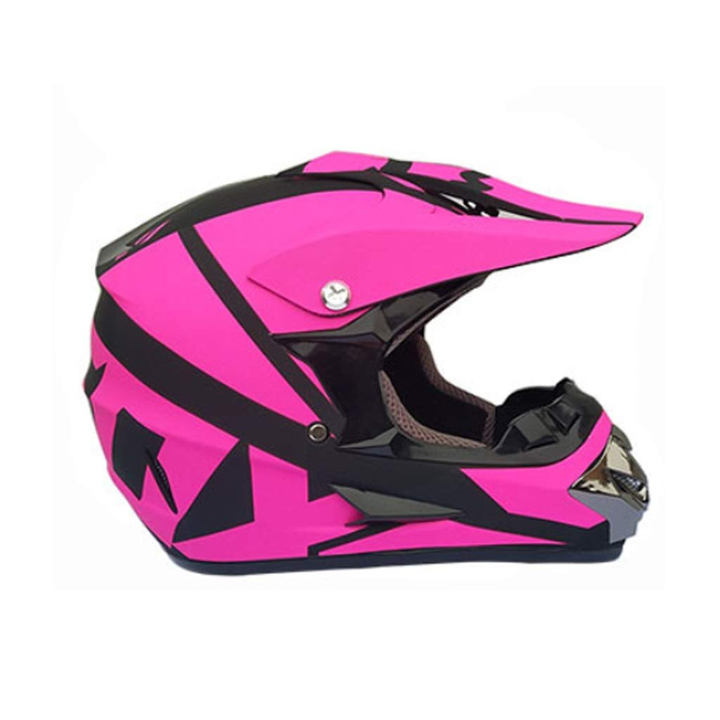 Asdfgh Helmet,DOT Youth Kids or Adult Offroad Helmet Motocross Helmet Dirt Bike with Gloves and Goggles