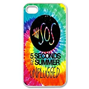 JamesBagg Phone case 5SOS Music Band For Iphone 4 4S case cover Style 15