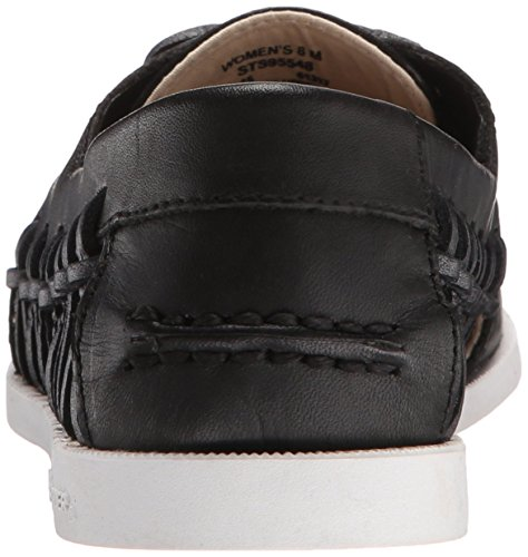 Sperry Top-Sider Womens A/O Haven Boat Shoe Black