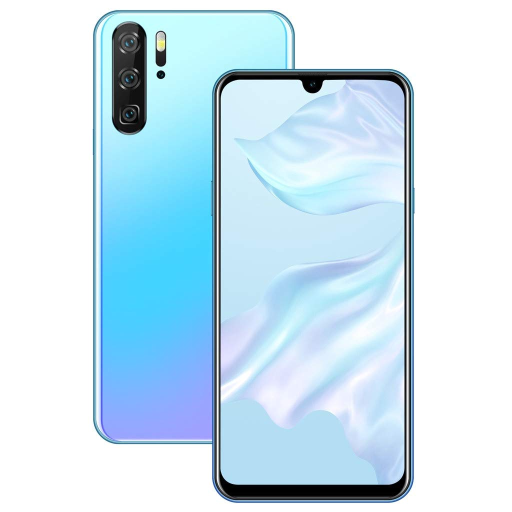Unlocked Smartphone,2019 New P30 PRO Quad Core 6.26 inch Dual HD Camera Android 8.1 2+32GB 3G Mobile Phone Cell Phone (White)