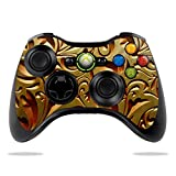 Cheap MightySkins Protective Vinyl Skin Decal for Microsoft Xbox 360 Controller Case wrap cover sticker skins Mosaic Gold