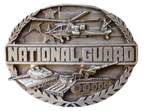 National Guard Novelty Belt Buckle
