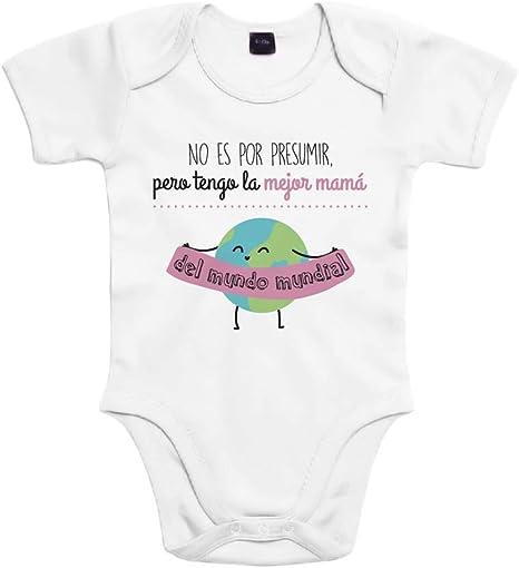 SUPERMOLON Body bebé algodón No es por presumir pero tengo la ...