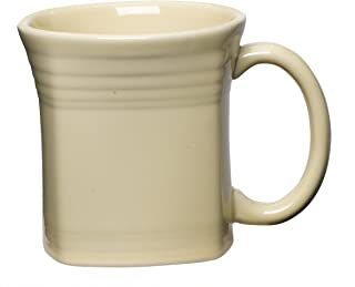 product image for Fiesta 13-Ounce Square Mug, Ivory