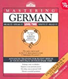 Mastering German, Tessa Krailing, 0812079205