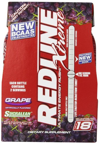 VPX Sports Redline Xtreme RTD Energy Drink, Grape, 8 унций., 24 граф