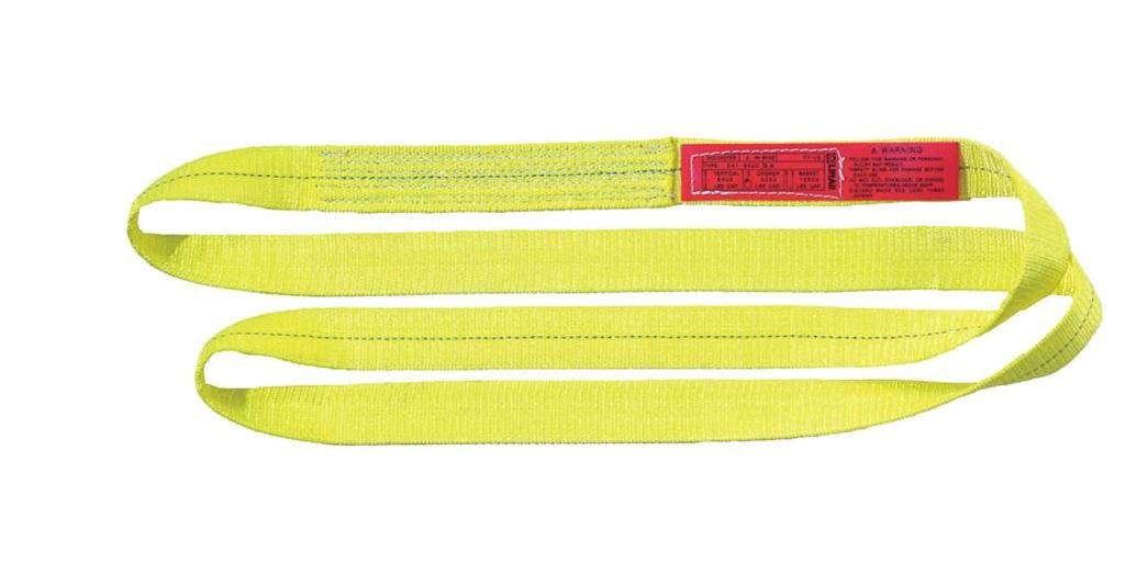 Liftall EN1602DX11 Polyester Web Sling Endless 2 Width x 11 Length 1-ply