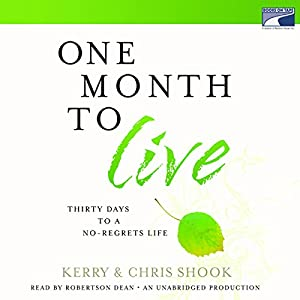 One Month to Live Audiobook
