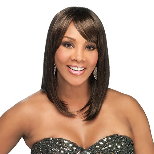 Vivica A. Fox MISCHA-V Synthetic Fiber, PS Cap Wig in Color 2 ()