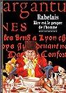 Rabelais : Rire est le propre de l'homme par Pouilloux