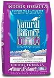 Natural Balance Indoor Ultra Premium, Dry Cat Food, 15-Pound Bag, My Pet Supplies