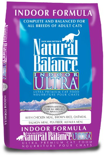 Natural Balance Indoor Ultra Premium, Dry Cat Food, 15-Pound Bag, My Pet Supplies