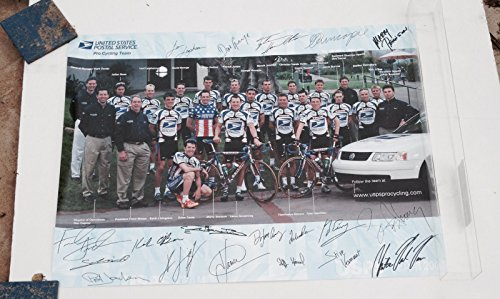 (USPS Pro Cycling Team Poster Lance Armstrong Tour De France Bicycle Bike Racing)