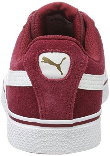 Basses white Mixte Puma Adulte Sneakers Vulc 1948 Rouge Red Tibetan xqZPwUt