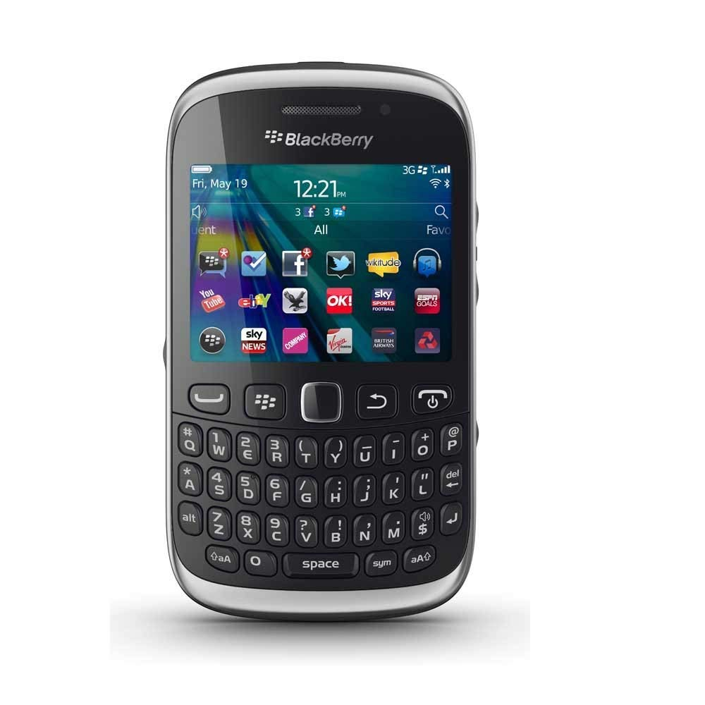 Curve 9320 by Original BlackBerry with 3.2MP Primary Camera (6 Months Seller Warranty) (Black)