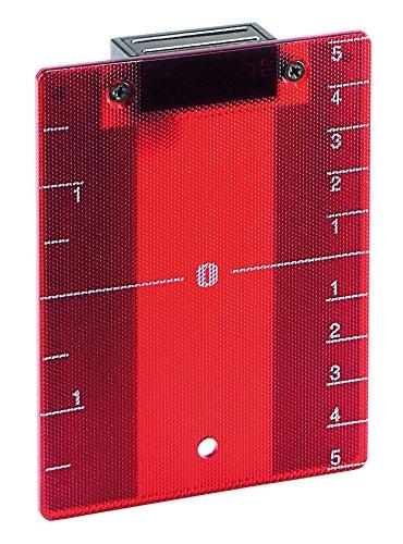 Leica 762775 Tablilla de punterí a roja para Niveles lá ser Roteo Leica Geosystems