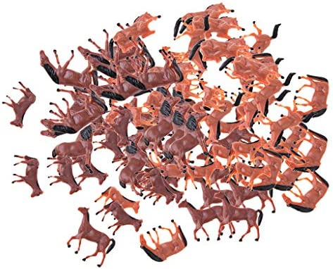 Tachiuwa 1/87 馬モデル 野生動物モデル リアル 塗装動物図 鉄道模型 動物園モデル 風景模型 レイアウト 約80個