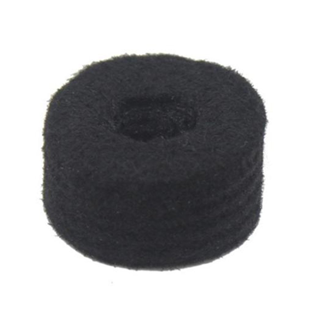 Fityle 10pcs Cymbal Felts Washers Drum Set Pad Replacement Percussion DIY Accessory