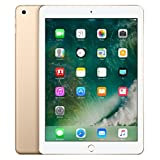 Apple iPad with WiFi + Cellular, 32GB, Gold (2017 Model)