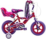Sonic Girl's Glitz Bike, 12 inch Wheels - Purple/Cerise