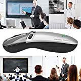 Air Mouse, Remote Mouse, 2.4G 6D Wireless Air Mouse + Laser Presenter with Remote Control for Teaching Conference Speech Meeting PPT Show