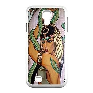 LSQDIY(R) Cleopatra SamSung Galaxy S4 I9500 Customized Case, Unique SamSung Galaxy S4 I9500 Durable Case Cleopatra