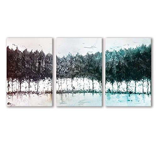 Colorful Trees x3 Panels