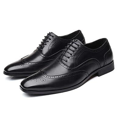 DeHolifer - Zapatos de Traje para Hombre, Estilo Vintage ...