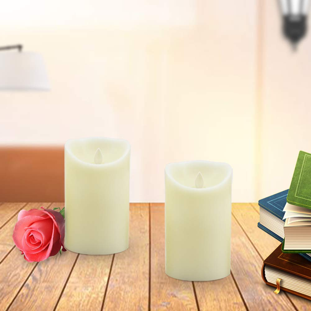 Everlasting Flickering Flameless Candles, 3\