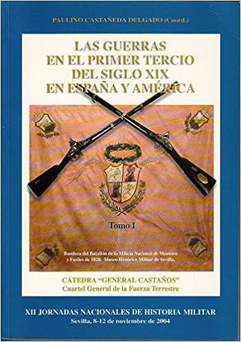 LAS GUERRAS EN EL PRIMER TERCIO DEL SIGLO XIX EN ESPAÑA Y AMÉRICA. TOMO I: Amazon.es: CASTAÑEDA DELGADO, PAULINO (Coord.): Libros