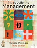 Introduction to Management, Richard Pettinger, 0333968077