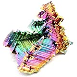 CountlessBooks&More Bismuth Crystal Stone Medium Specimen for Collecting,Wire Wrapping,Wicca and Reiki Crystal Healing