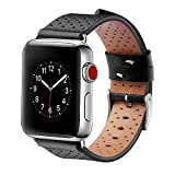 For Apple Watch Band 38mm 42mm Genuine Leather iwatch Band...