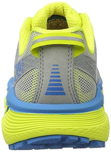 Hoka One Challenger Atr 3, Zapatillas de Running para Asfalto para Mujer Gris (Cool Gray/citrus)