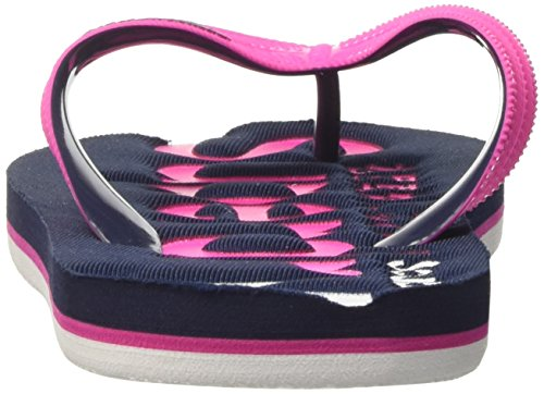 Multicolore Logo Dark Navy Faded Superdry Tongs Magenta Optic Femme Pink 4PqxFwU