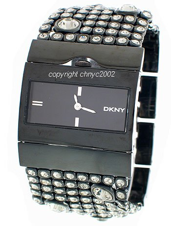 DKNY NY3927 - Reloj analógico de cuarzo para hombre con correa de acero inoxidable, color