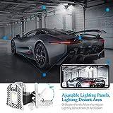 Three Leaf Garage Light Tribright Deformable Led
