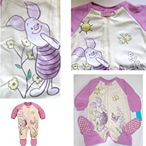 Amazon Com Disney Winnie The Pooh Piglet Footed Blanket