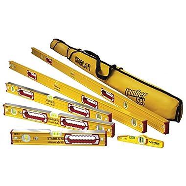 Stabila 196 Level Set Kit - 78 /48 /32 /24 /16  Torpedo & Case