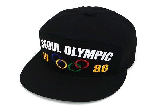 2af2480fb5d Muan 5 Panel 1988 Seoul Olympic Rings Mascot Hodoli Bigbang GD Tae Yang Snapback  Hat (