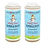 California Baby Bubble Bath, Holiday Cheer - 13 Oz. 3-Pack by California Baby