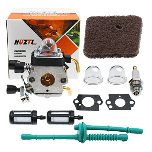 - HUZTL C1Q-S97 Carburetor for STIHL FS38 FS45 FS46 FS55 KM55 HL45 FS45L FS45C FS46C FS55C FS55R FS55RC FS85 FS80R FS85R FS85T FS85RX String Trimmer Weed Eater with Air Filter Fuel Line Kit