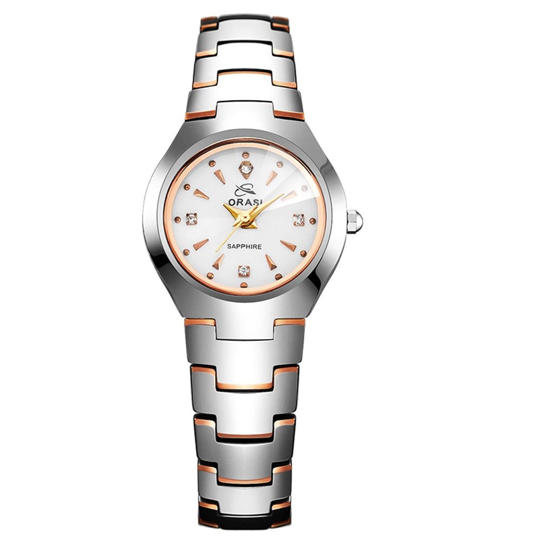 Business casual Uhren-Wasserdichte Uhr mit Kalender-Einfache Quarzuhr-G