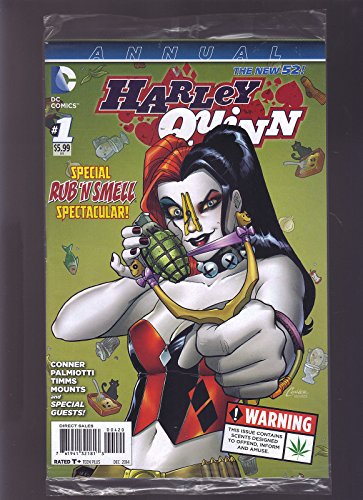 DC COMICS THE NEW 52 HARLEY QUINN #1 ANNUAL RUB AND SMELL 1ST PRINT DIRECT EDIT