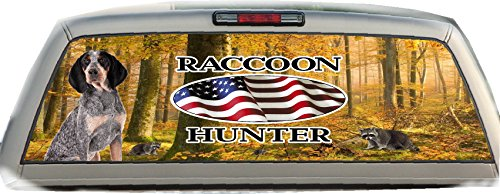 Tick Hound- 22 Inches- By- 65 Inches- Rear Window Graphic (Rear Window Hunting Decal)