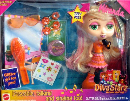 Diva Starz Poseable, Talking, Singing Miranda Collectible Series