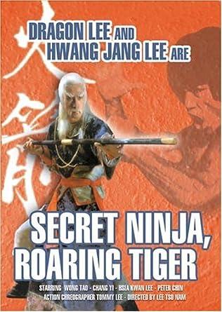 Secret Ninja Roaring Tiger & San Da Kung Fu Leg USA DVD ...