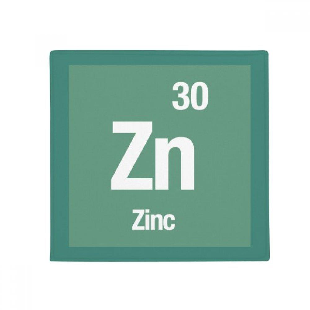 DIYthinker Zn Zinc Chemical Element Science Anti-Slip Floor Pet Mat Square Home Kitchen Door 80Cm Gift