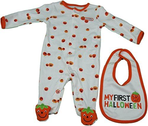 Carters Halloween Sleeper Orange Pumpkins