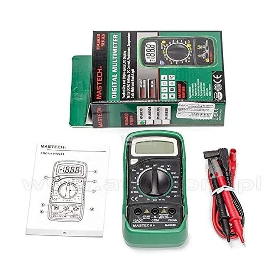 Mastech MAS830L Digital Pocket Multimeter (Assorted) 3